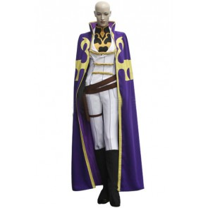 Code Geass Nonette Enneagram Cosplay Costume