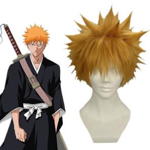 Orange 30cm Bleach Kurosaki Ichigo Cosplay Wig