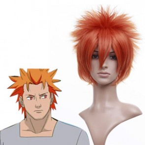 Orange 30cm Naruto Jugo Cosplay Wig