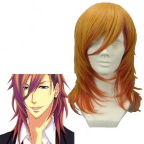 Orange 45cm Uta no Prince-sama Ren Jinguji Cosplay Wig