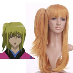 Orange 60cm Gintama Kijima Matako Cosplay Wig