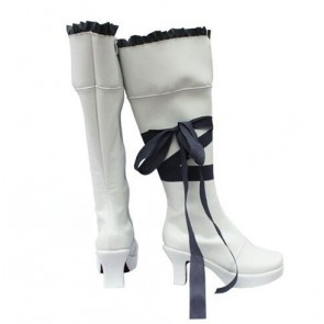 Pandora Hearts White Oz Vessalius Cosplay Boots