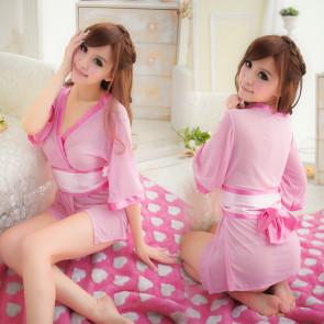 Pink Charming Japanese Geisha Costume
