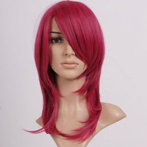 Pink Red Soul Eater Spirit Albarn Cosplay Wig