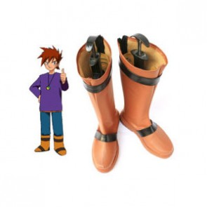 Pokemon Gary Oak Imitated Leather Cosplay Boots