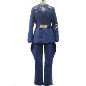 Axis Powers Hetalia Prussia Gilbert Beilschmidt Cosplay Costume