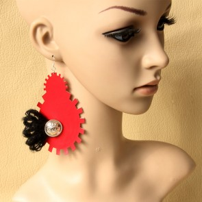 Punk Retro Handmade Lady Lolita Earrings