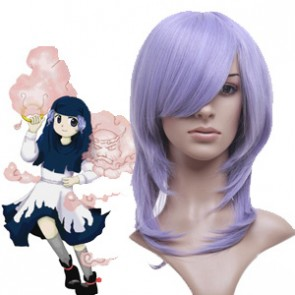 Purple 45cm Tonhou Project Kumoi Ichirin Nylon Cosplay Wig