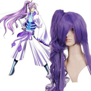 Purple 90cm Vocaloid Gakupo Nylon Cosplay Wig