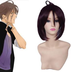 Purple Brown 60cm Inu x Boku SS Renshou Sorinozuka Cosplay Wig