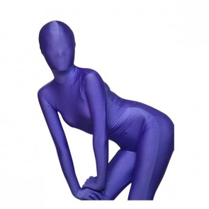 Purple Full Body Lycra Spandex Unisex Zentai Suit
