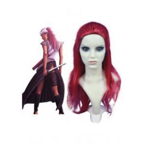 Red 70cm Naruto Karui Cosplay Wig