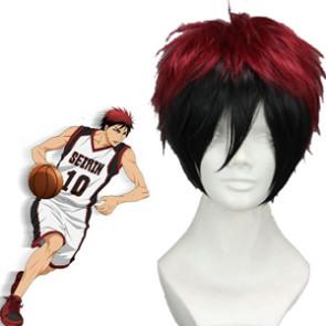 Red And Black 32cm Kuroko no basuke Kagami Taiga Cosplay Wig