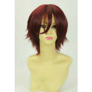 Red Brown 30cm Free! Rin Matsuoka Cosplay Wig