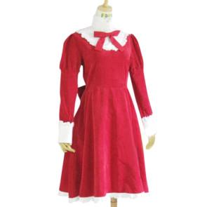 Axis Powers Hetalia Red Liechtenstein Cosplay Costume