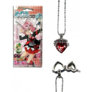 Red Shugo Chara Alloy Pendant Necklace