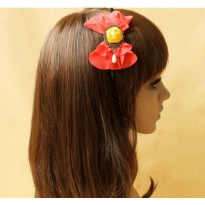 Retro Floral Bead Handmade Women Lolita Headband