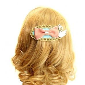 Retro Gorgeous Bow Lady Lolita Hairpin