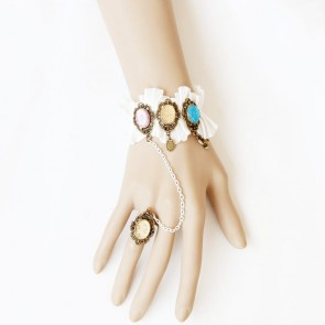Romantic Western Style Handmade Lolita Bracelet And Ring Set