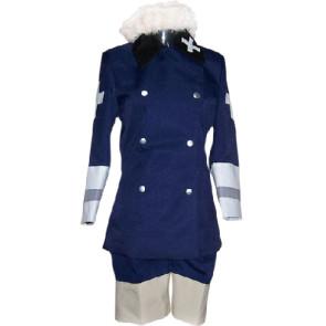 Axis Powers Hetalia Royal Blue Cosplay Costume
