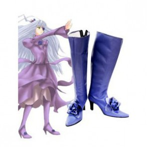 Rozen Maiden Barasuishou Imitation Leather Rubber Cosplay Boots