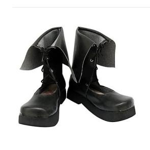 Rozen Maiden Suiseiseki Imitation Leather Cosplay Boots
