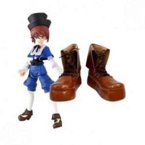 Rozen Maiden Souseiseki Imitation Leather Cosplay Shoes