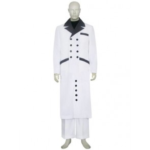 Final Fantasy VII 7 Rufus Shinra Cosplay Costume