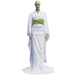 Bleach Rukia Kuchiki's Zanpakuto Sode no Shirayuki Cosplay Costume