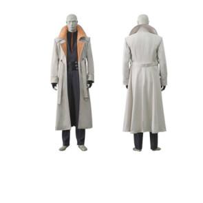 Rurouni Kenshin Aoshi Shinomori Cosplay Costume