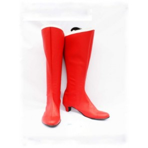 Sailor Moon Tsukino Usagi Red Cosplay Boots