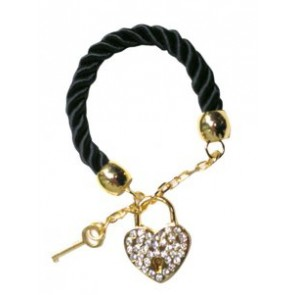 Shugo Chara! Black Cosplay Key Bracelet