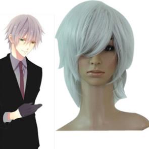 Silver 35cm Inu x Boku SS Soushi Miketsukami Cosplay Wig