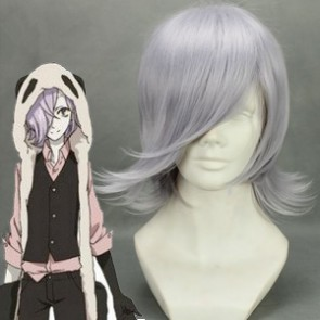 Purple 35cm UN-GO Inga Cosplay Wig