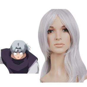 Silver 65cm Naruto Yakushi Kabuto Cosplay Wig