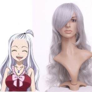 Silver Gray 90cm Fairy Tail Mirajane Cosplay Wig