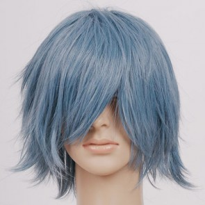 Silver Grey Blue Kamina Cosplay Wig
