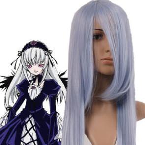 Silver Purple 120cm Rozen Maiden Suigintou Cosplay Wig