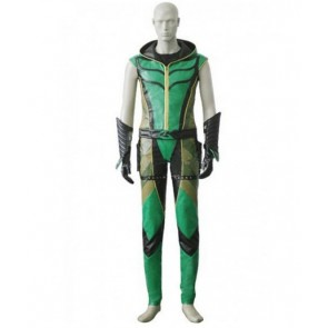 Smallville Green Arrow Cosplay Costume