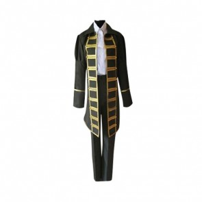 Axis Powers Hetalia Spain Cosplay Costume (Black)