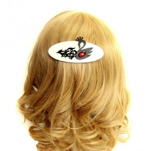 Special Black Swan Lady Lolita Hairpin