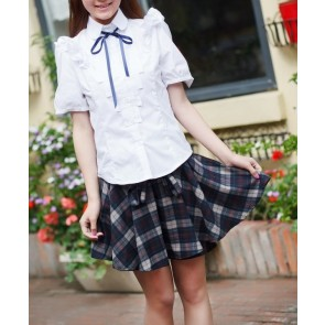 Special Short Sleeves Girl Japanese School Uniform Cosplay Costume