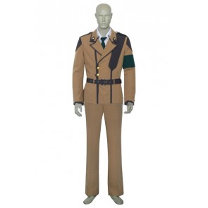 Code Geass Suzaku Kururugi Uniform Cosplay Costume