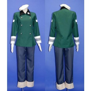 Axis Powers Hetalia Switzerland Vash Cosplay Costume