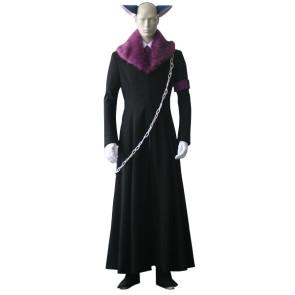 Shugo Chara Tsukiyomi Ikuto Death Rebel Cosplay Costume
