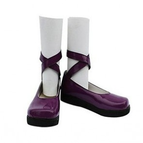 Umineko No Naku Koro Ni Zepar Purple Cosplay Shoes