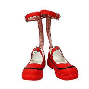 Umineko No Naku Koro Ni Maria Ushiromiya Red Cosplay Shoes
