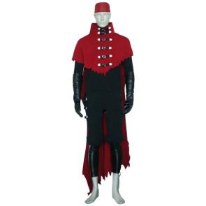Final Fantasy VII 7 Vincent Valentine Cosplay Costume