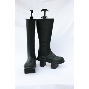 Vocaloid Faux Leather Kaito Cosplay Boots