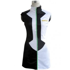 Vocaloid Kagamine Rin Black and White Cosplay Costume